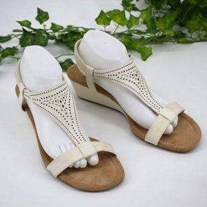 Alfani boho classic comfort low wedge sandal